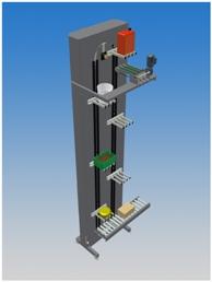 vertical conveyor,