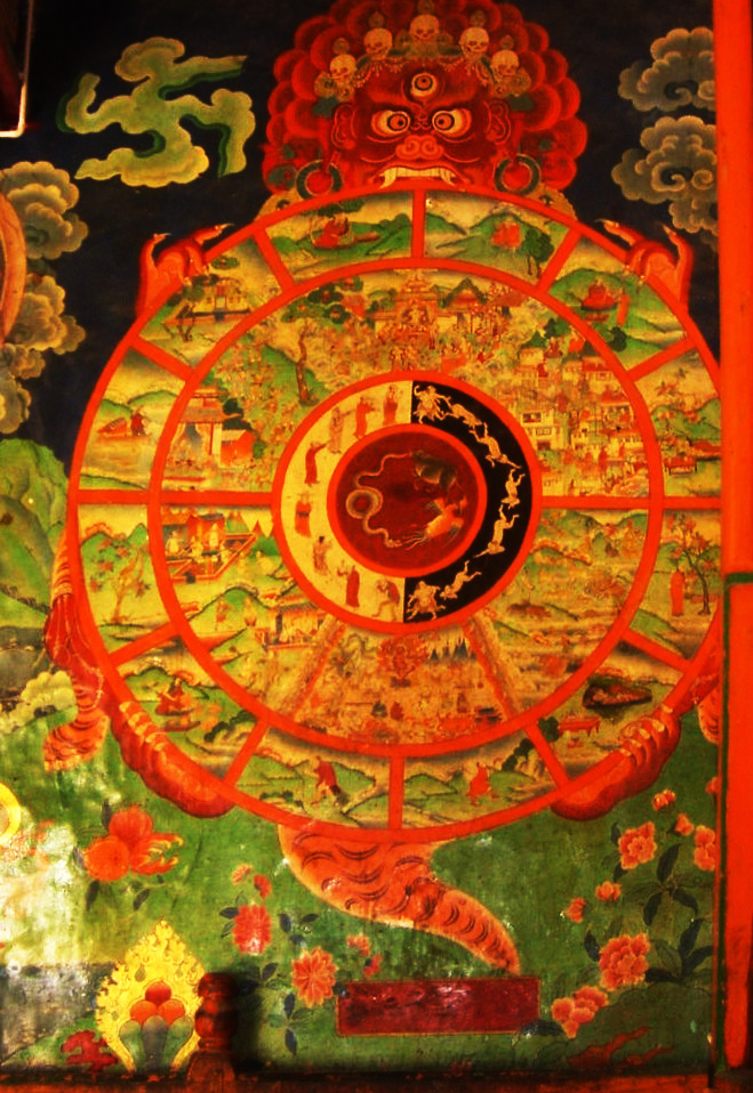 Roue De La Vie Bouddhiste : bouddhiste, L'existence, Karmique, Wikipédia