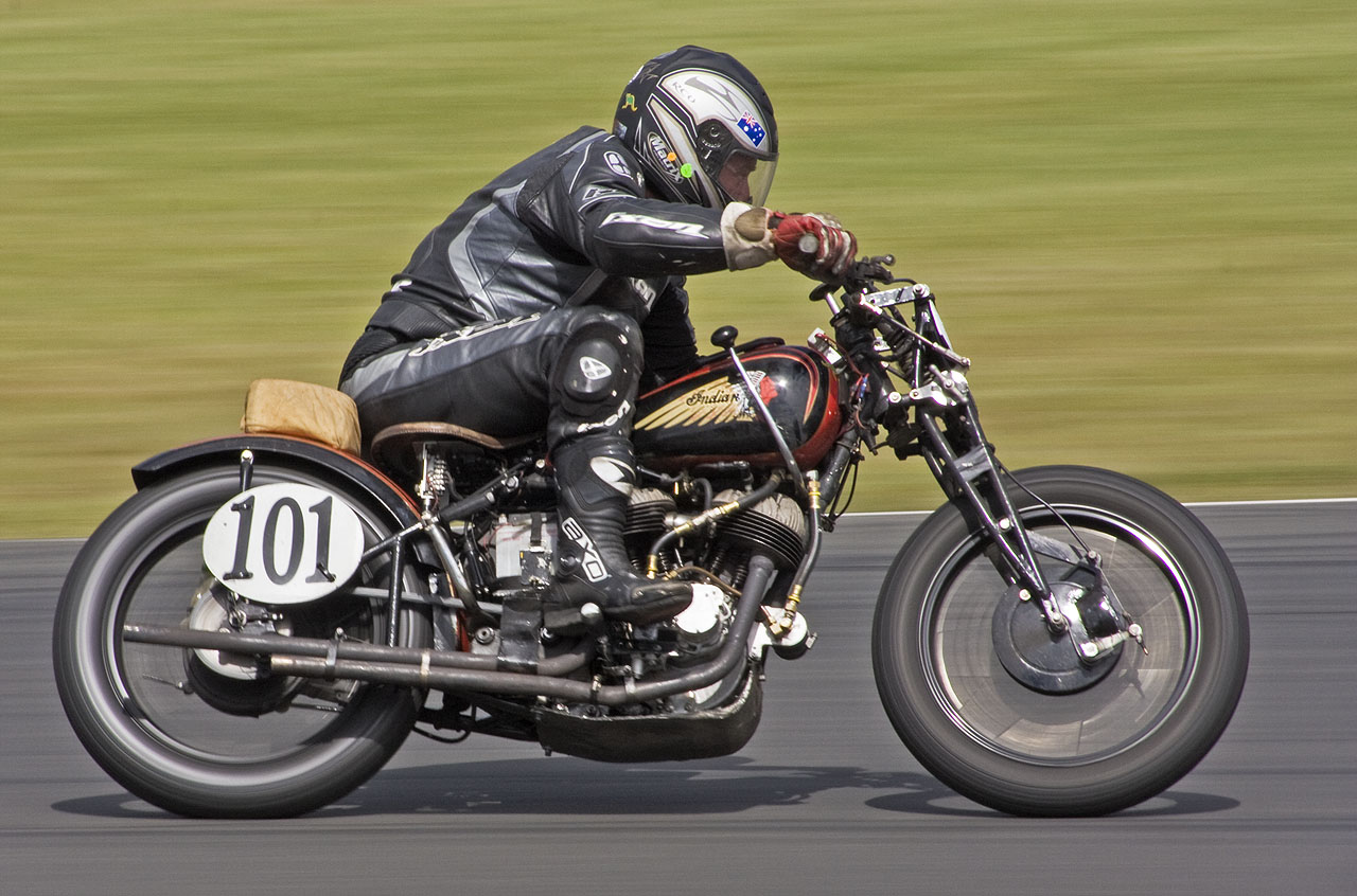 1941 Indian 750cc Road Racing