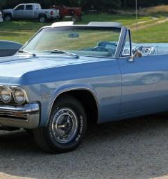 file 1965 chevrolet impala ss convertible front jpg [ 5406 x 2580 Pixel ]