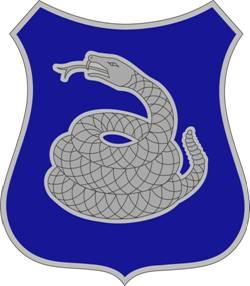 Distinctive unit insignia for 369th Regiment &...