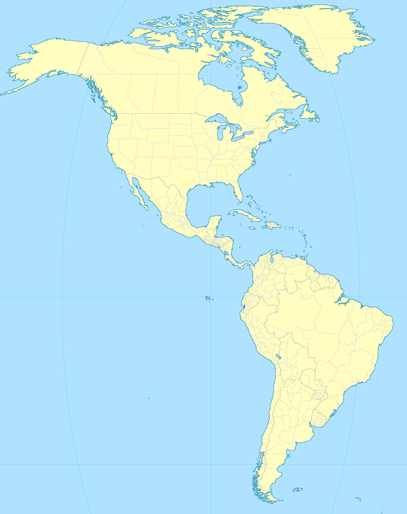 On North America Political Map Worksheet