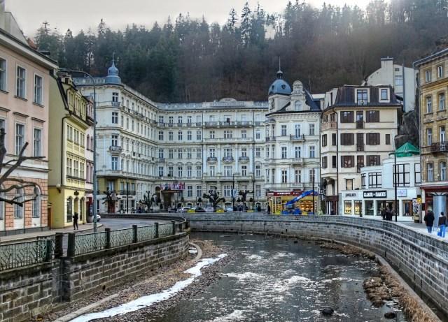 Das Grandhotel Pupp in Karlsbad wurde unter anderem für Außenaufnahmen genutzt.