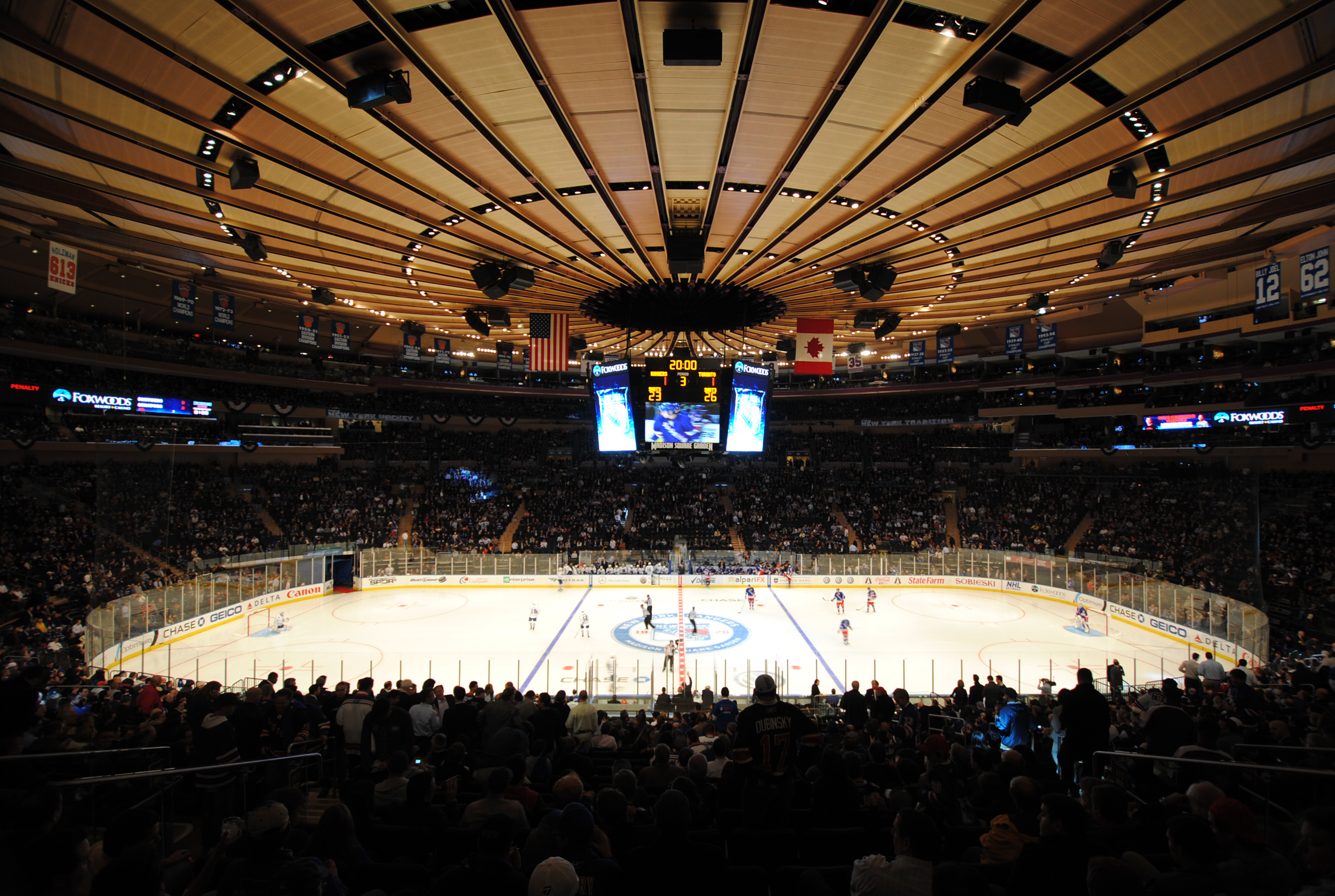 Madison Square Garden is awful  Stanley Cup of Chowder