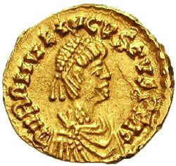 Romulus Augustus was deposed as Emperor of the Western Roman Empire in 476.