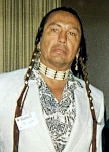 English: Russell Means at the Illinois Liberta...