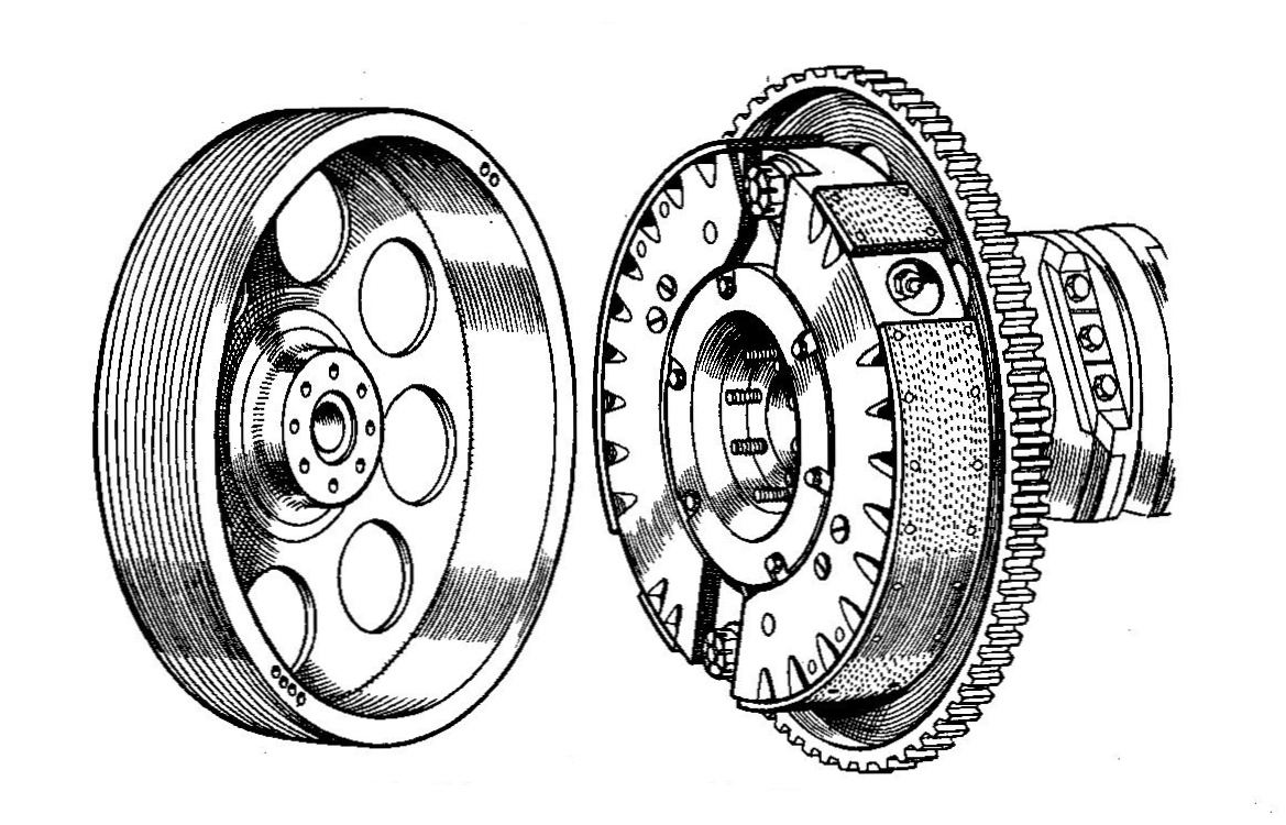 File:Talbot 'Traffic Clutch' automatic centrifugal clutch