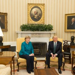 Oval Office Chair Chairpro Europe File Angela Merkel And Donald Trump In The