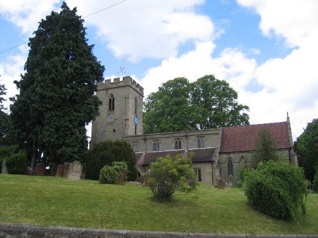 St Chad's parish church, Mallory Road, Bishop's Tachbrook, Warwickshire