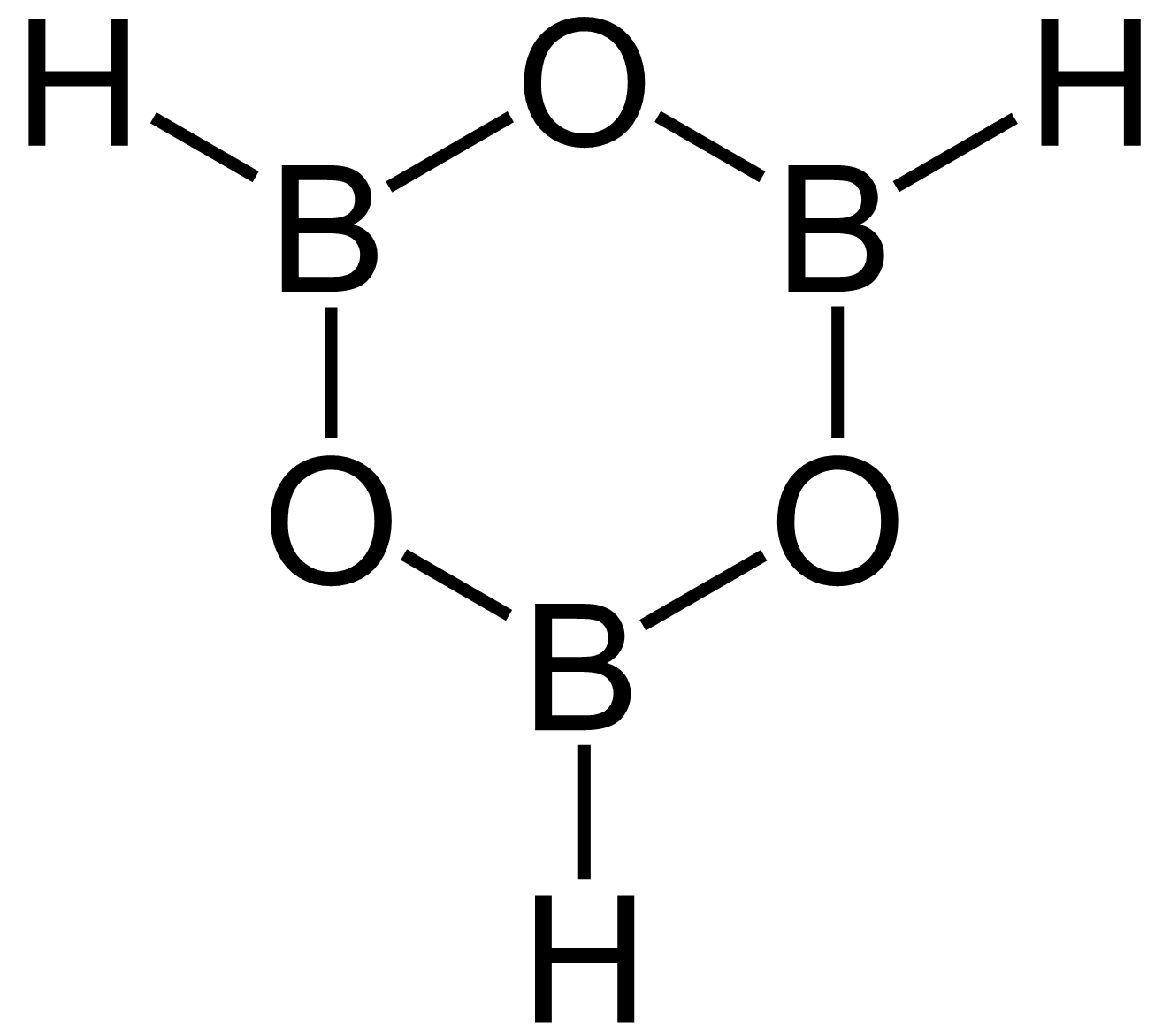 Boroxin