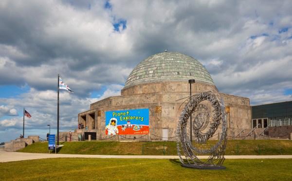 Adler Planetarium Chicago Illinois