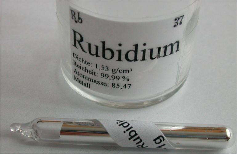 Rubidium Simple English Wikipedia The Free Encyclopedia