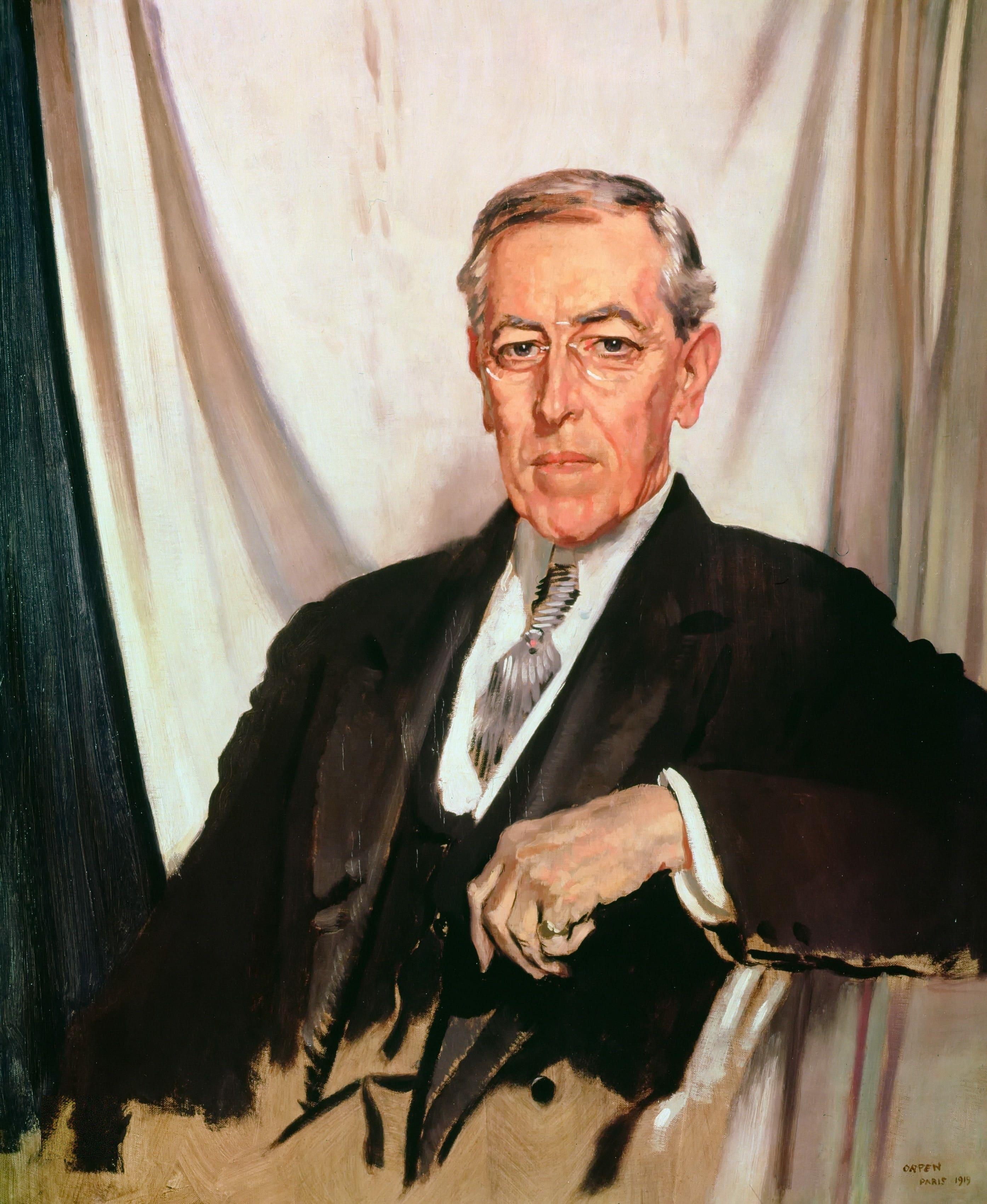 Presidency of Woodrow Wilson  Wikipedia