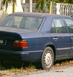 file 1997 mercedes benz e class w124 4 door sedan [ 2818 x 1444 Pixel ]