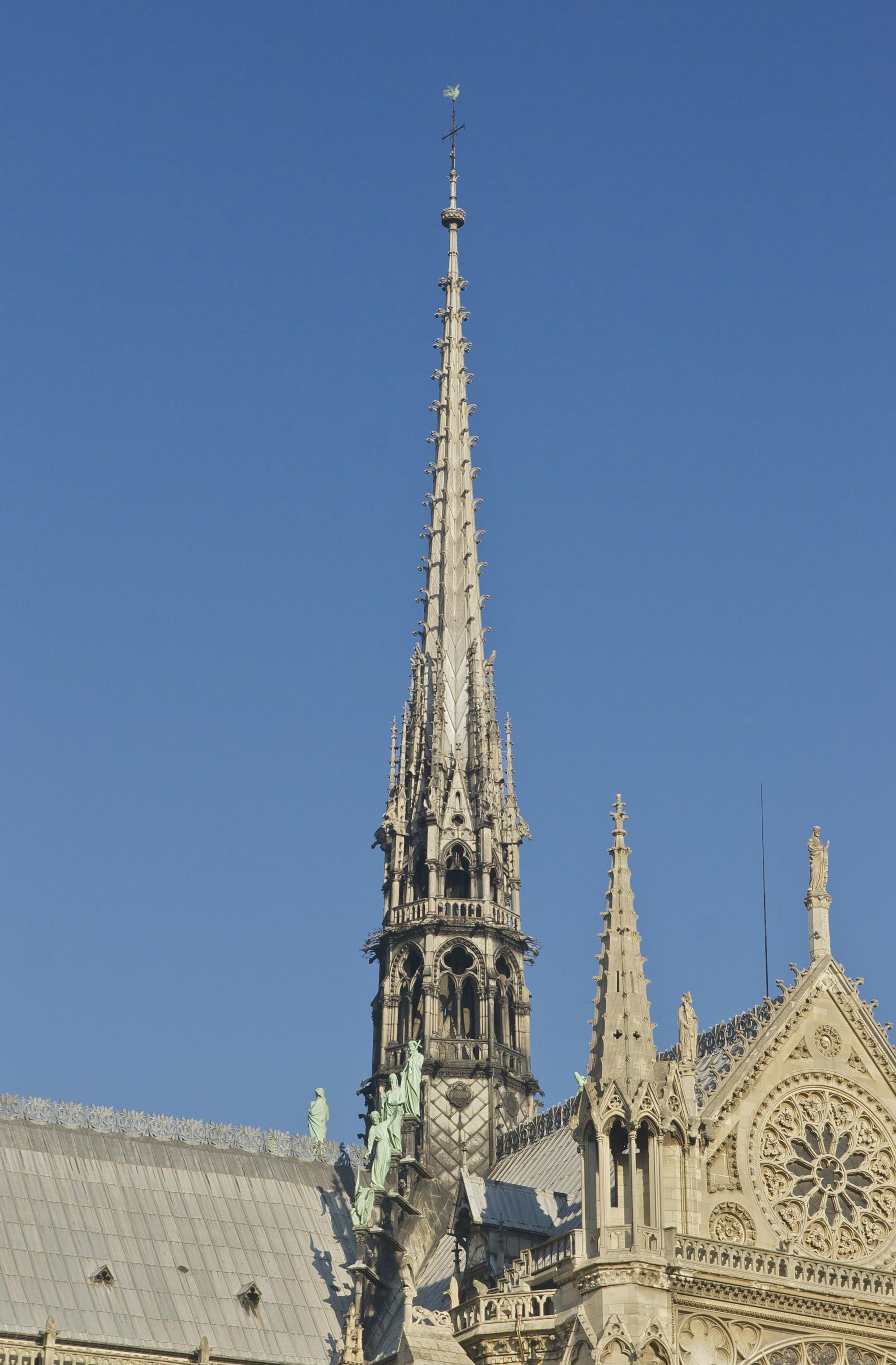 Notre Dame De Paris Histoire Des Arts : notre, paris, histoire, Spire, Notre-Dame, Paris, Wikipedia