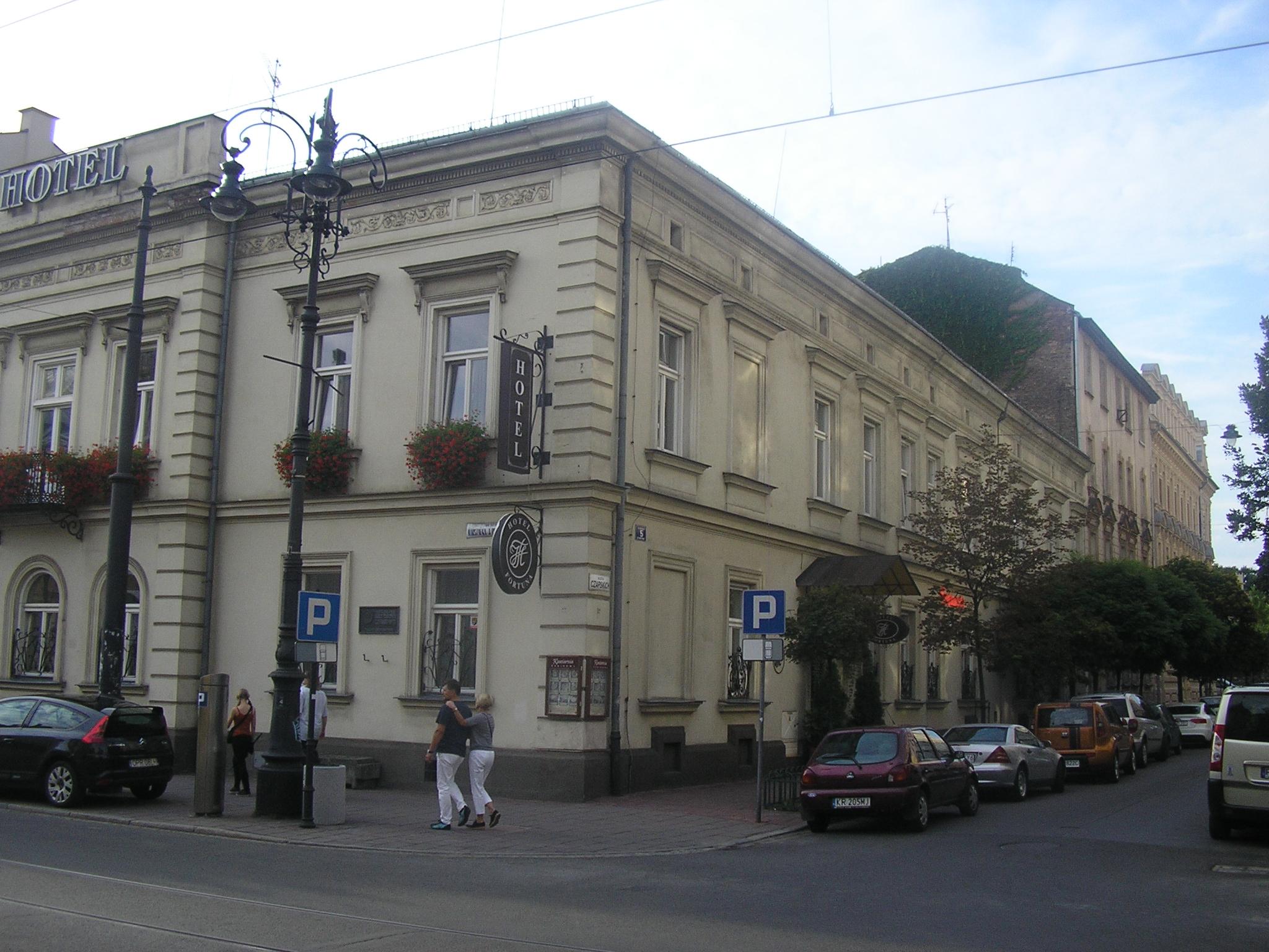File Fortuna Hotel In Krakow 2014 Bk04 Jpg Wikimedia Commons