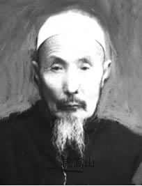Chinese muslim ahong (imam) Hu Songshan, and y...