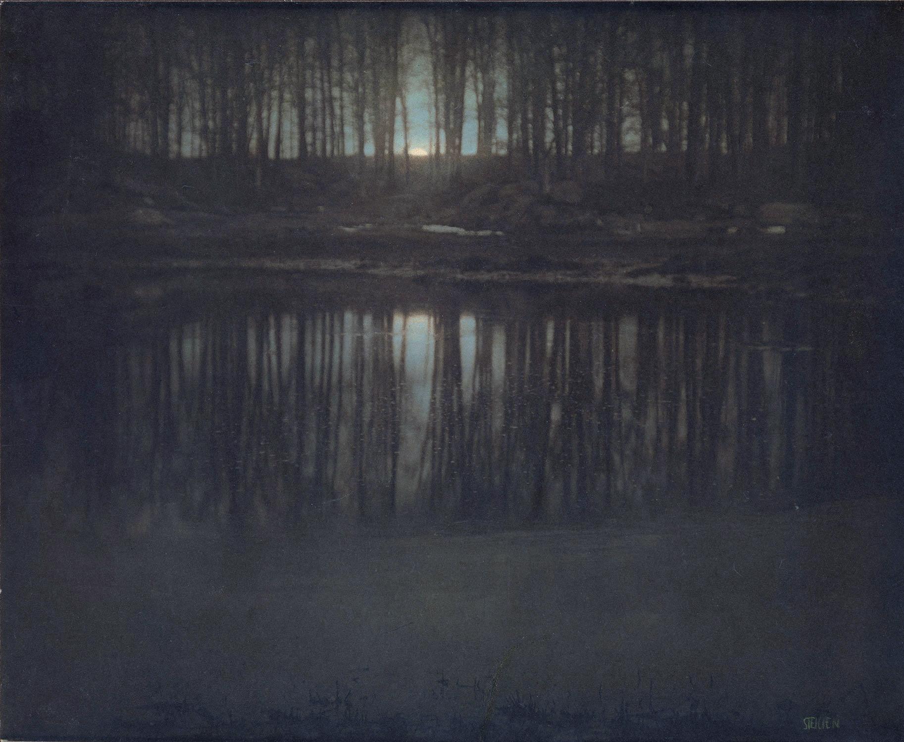 The Pond, Moonlight - Edward Steichen
