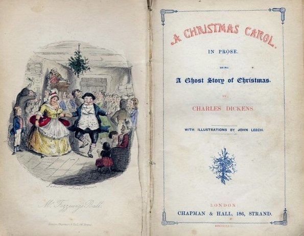 A Christmas Carol frontpiece