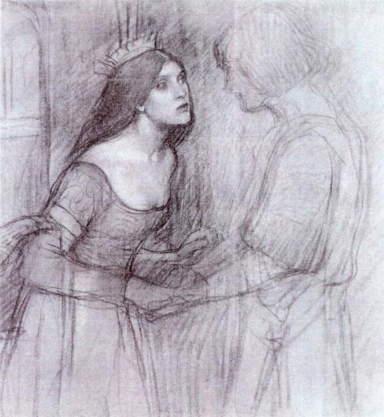 A Female Study - John William Waterhouse