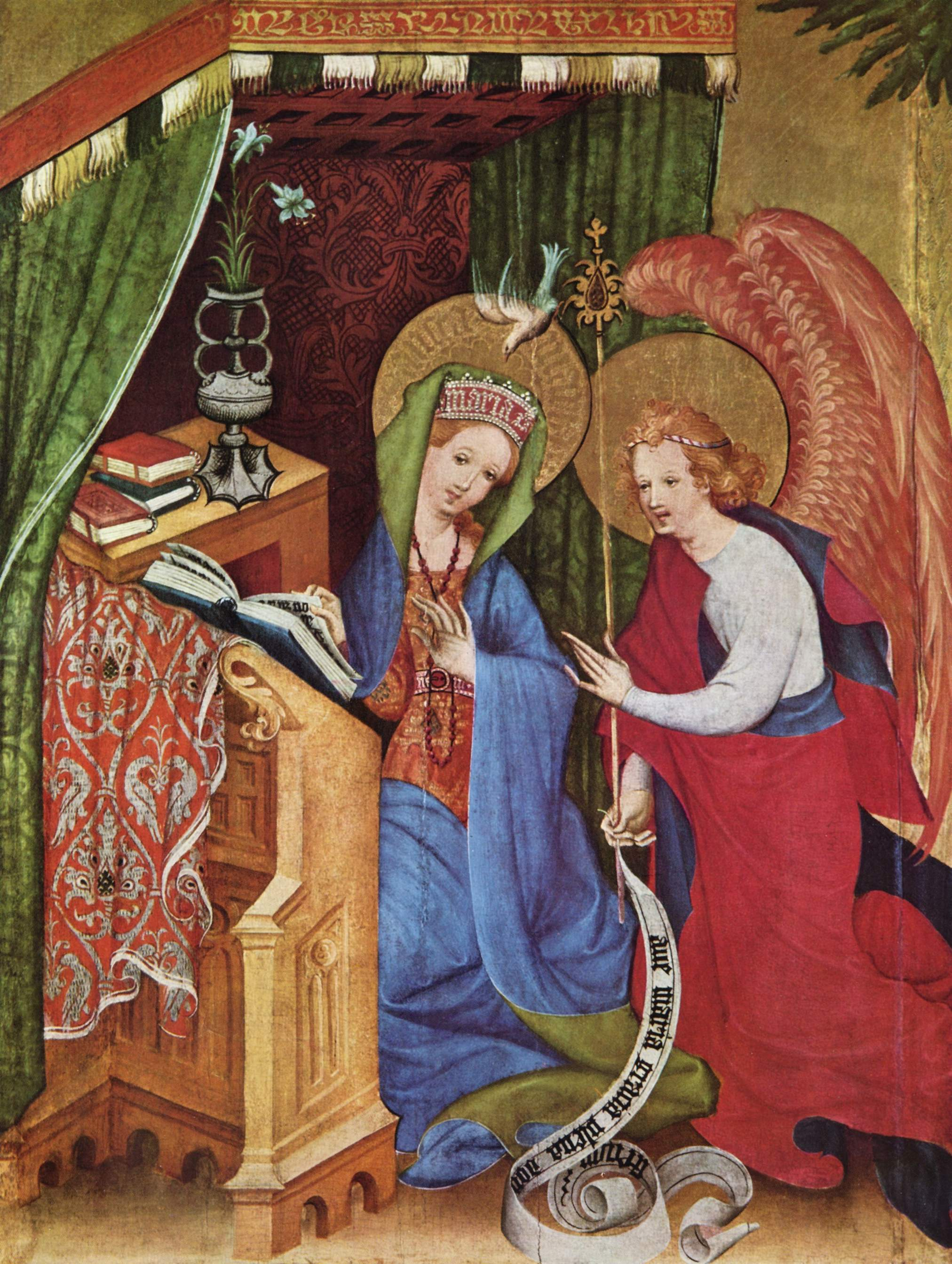 Where do I sign Marginal notes on 15th century painting