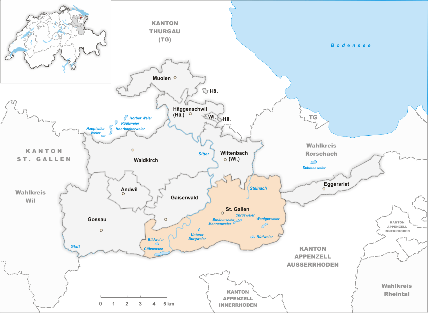 FileKarte Gemeinde St Gallen 2007png  Wikimedia Commons