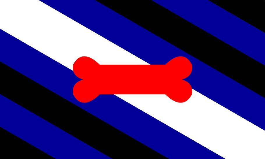 Bildergebnis für puppy play bdsm flag