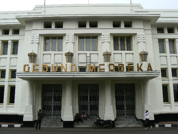 Gedung Merdeka  Wikipdia Sunda nsiklopdi bbas