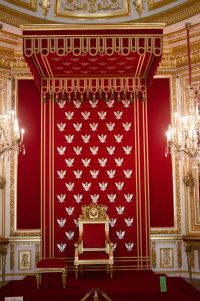 Throne Room - Royal Castle, Warsaw, Poland The... - Long ...