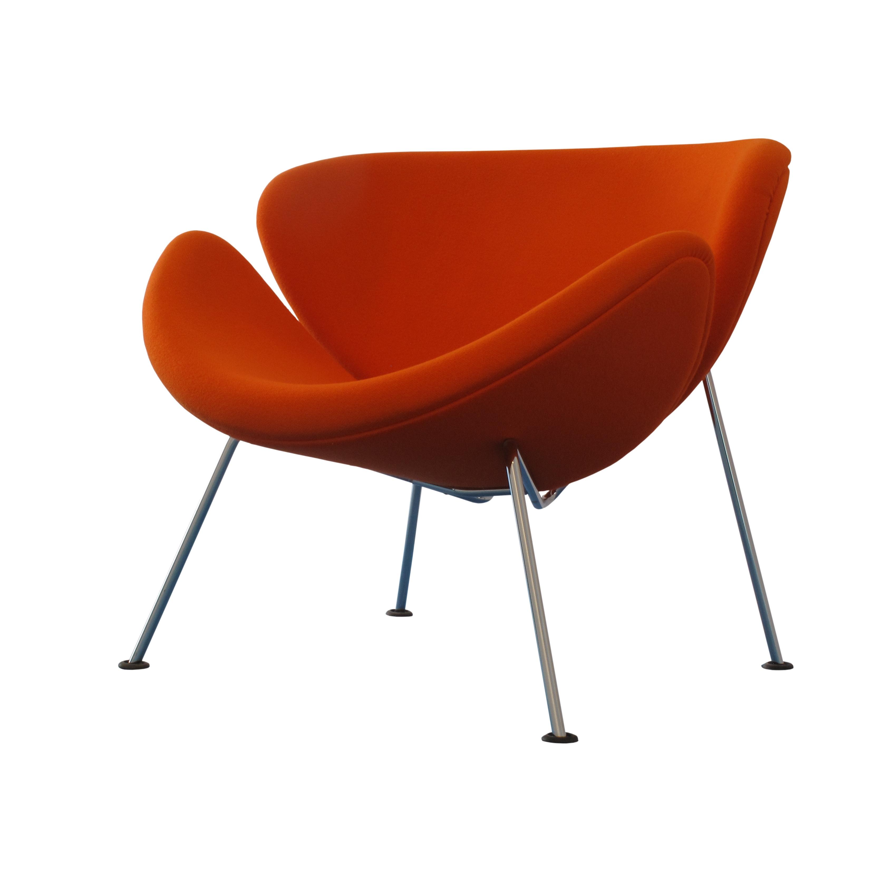 orange slice chair woven lounge file pierre paulin img 5833 white jpg