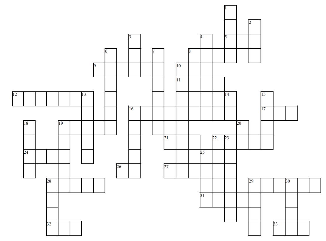 File Signpost Crossword Puzzle