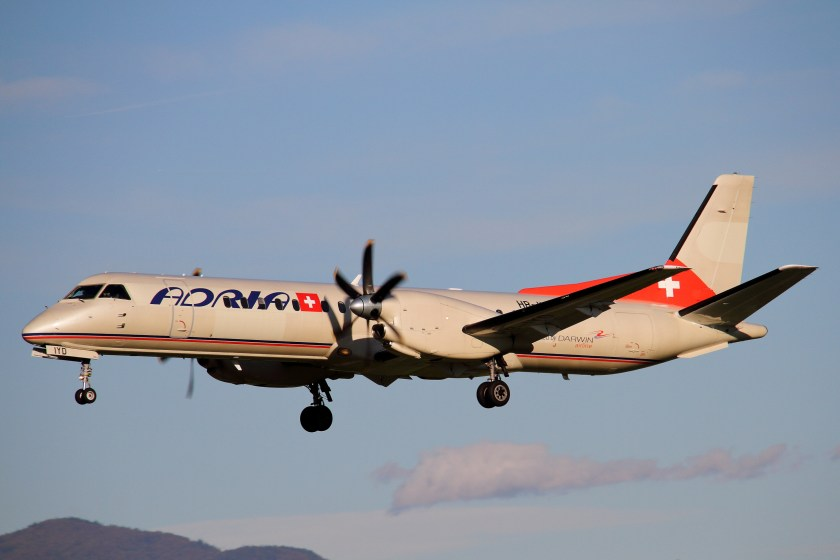 Bildresultat för adria airways saab 2000