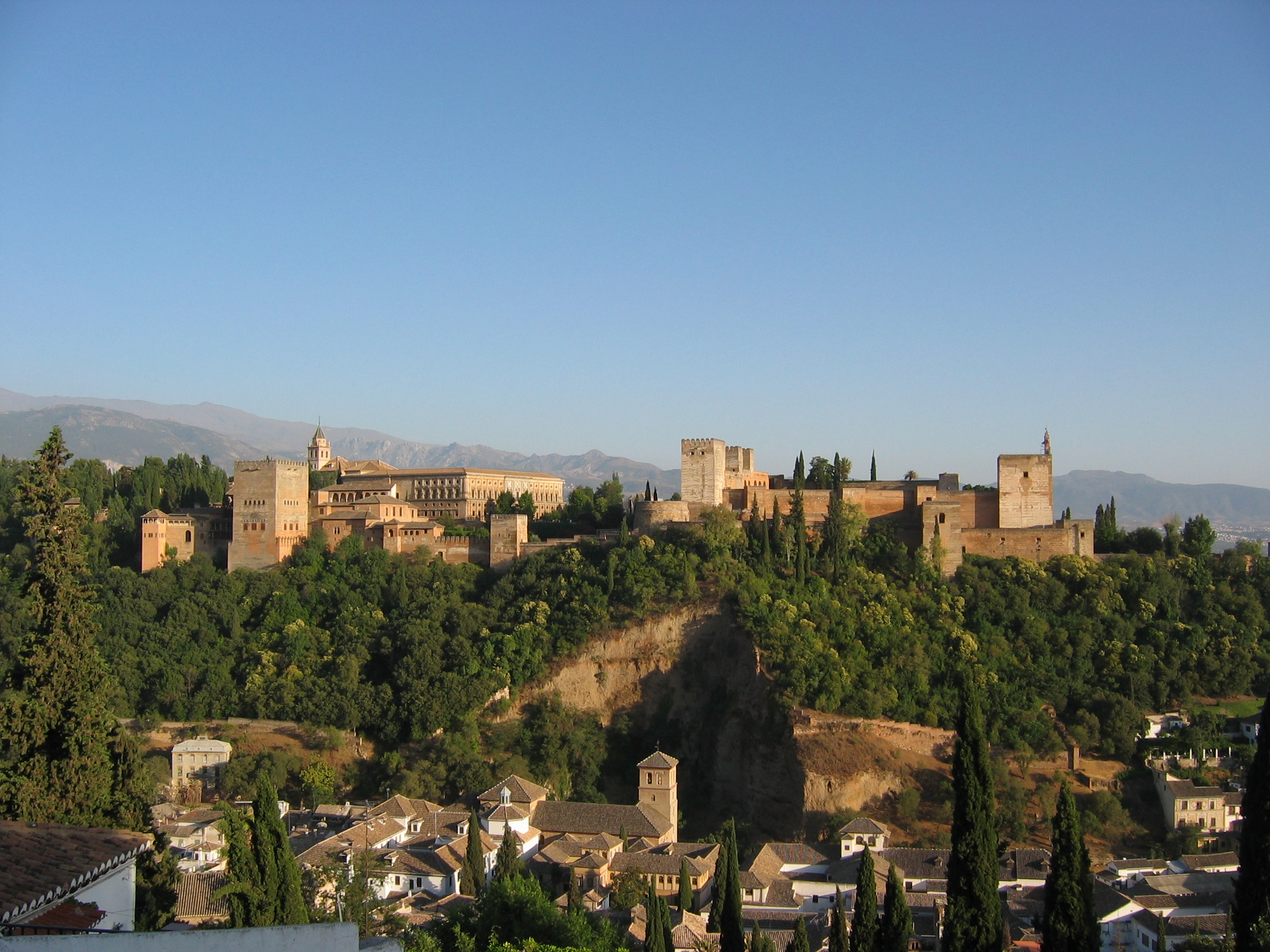 The Alhambra is an architectural gem