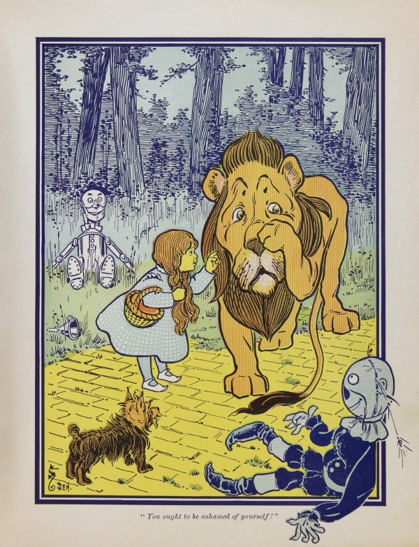 Wizard of Oz Book Illustrations