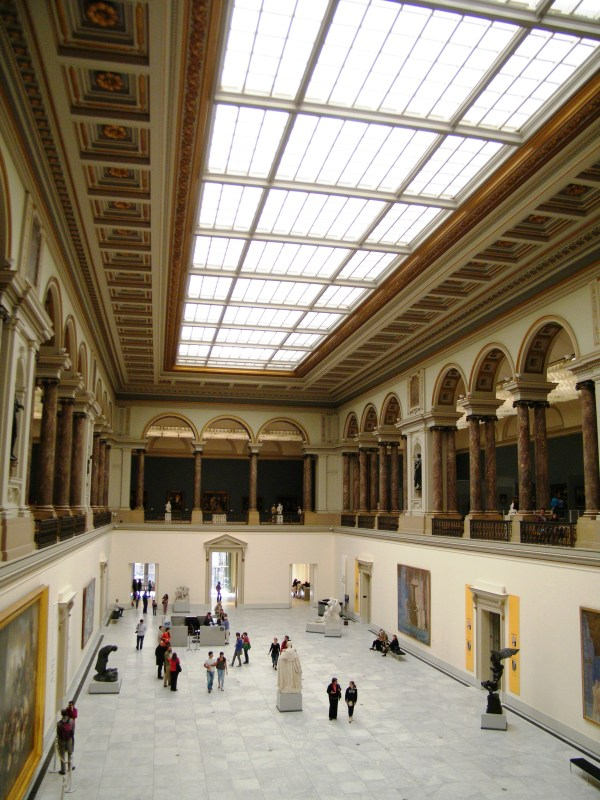 File Interior Of Royal Museums Fine Arts Belgium 2011b - Wikimedia Commons