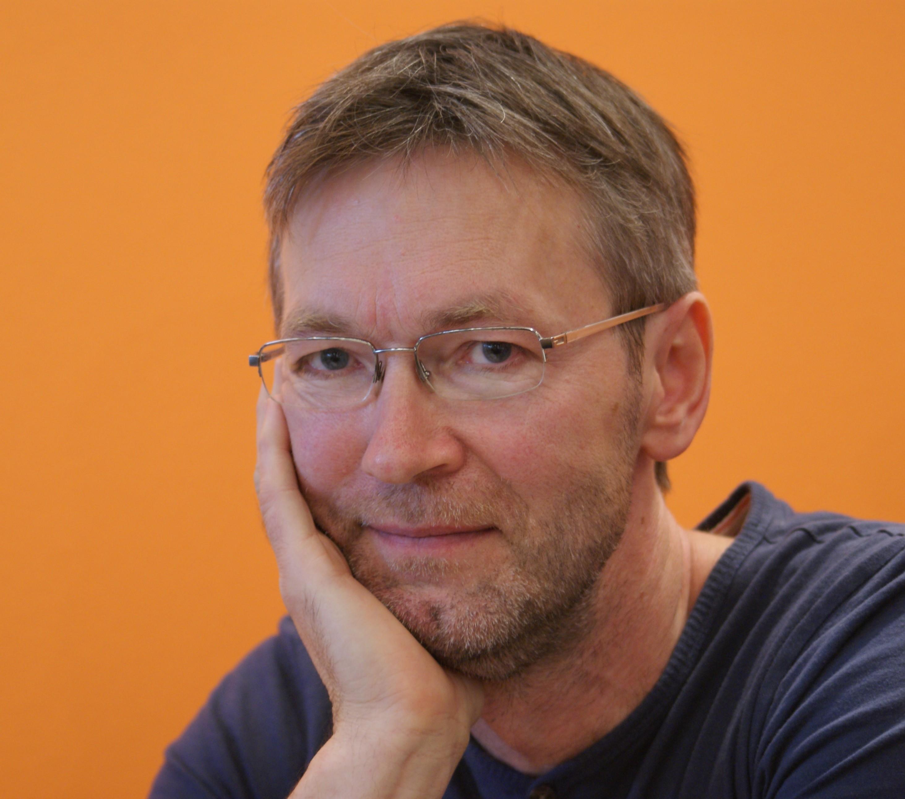 Tecknaren Jan Berglin på bokmässan 2011