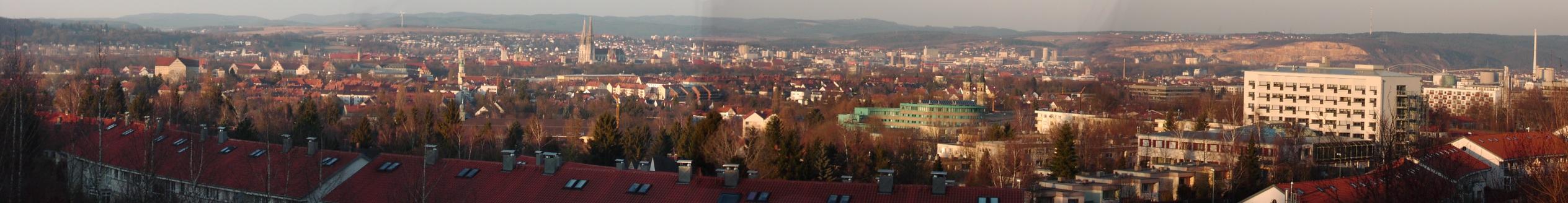 Panorama Regensburg (c) Wikimedia.org