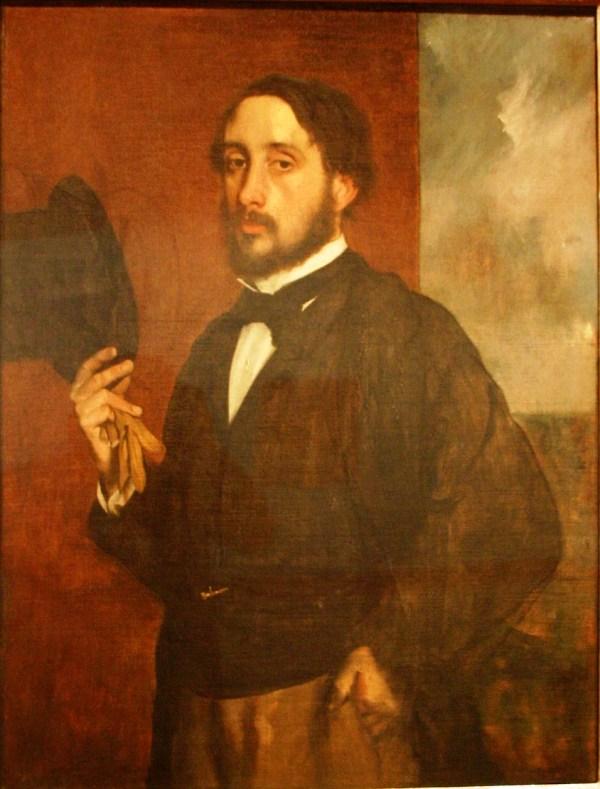 File -portrait - Edgar Degas Ca 1863 Oil Wikimedia Commons