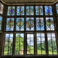 Glass window overlooking gardens of montacute house 4675709559 jpg