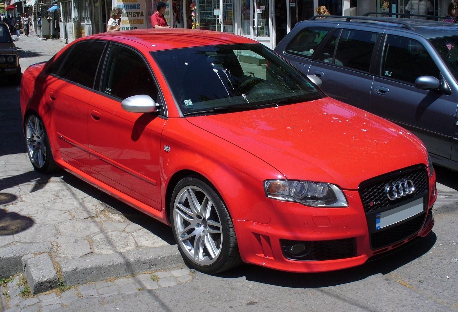 hight resolution of file audi rs4 rot jpg