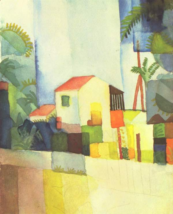 August Macke Bright House