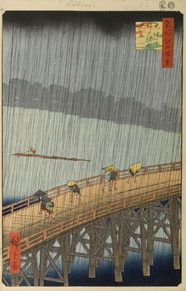 Great Bridge Sudden Shower at Atake