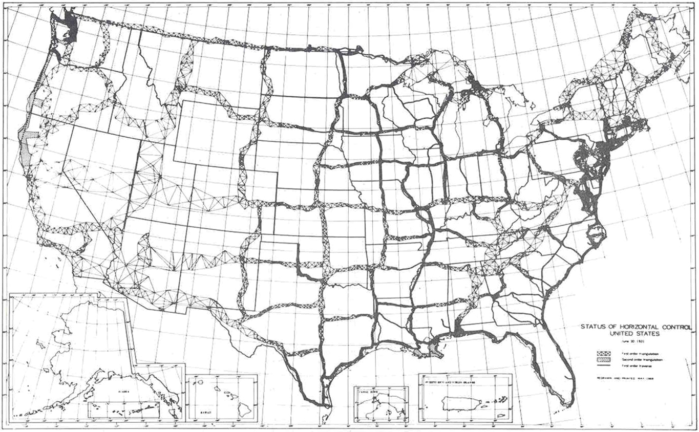 File Horizontal Control Network Of The United States June