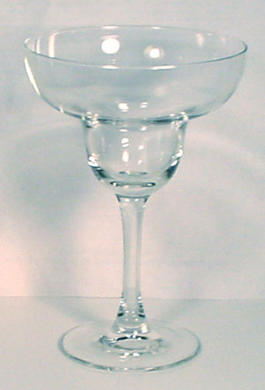 Margarita glass.