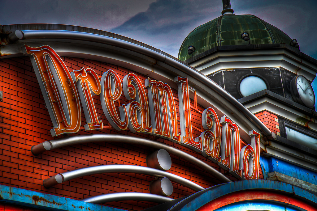 English: Nara Dreamland entrance.