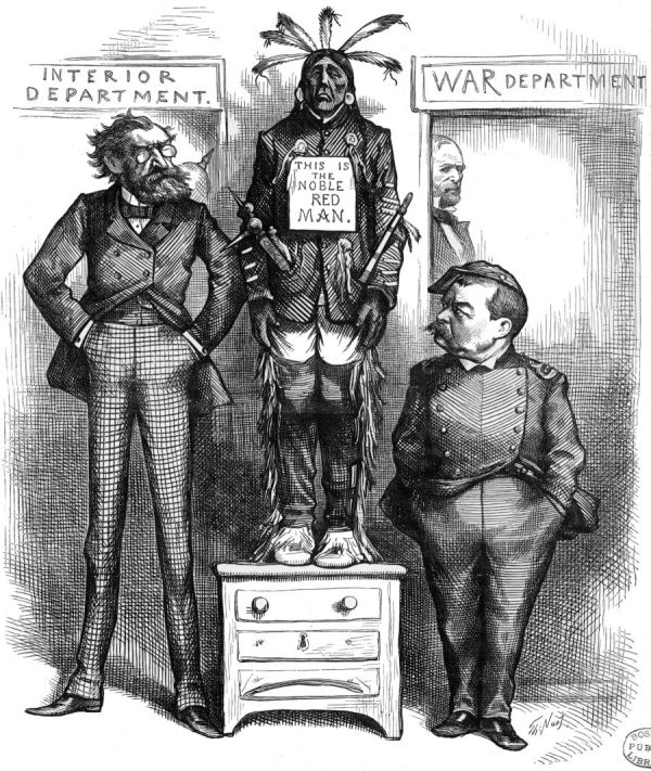 French and Indian War Political Cartoon