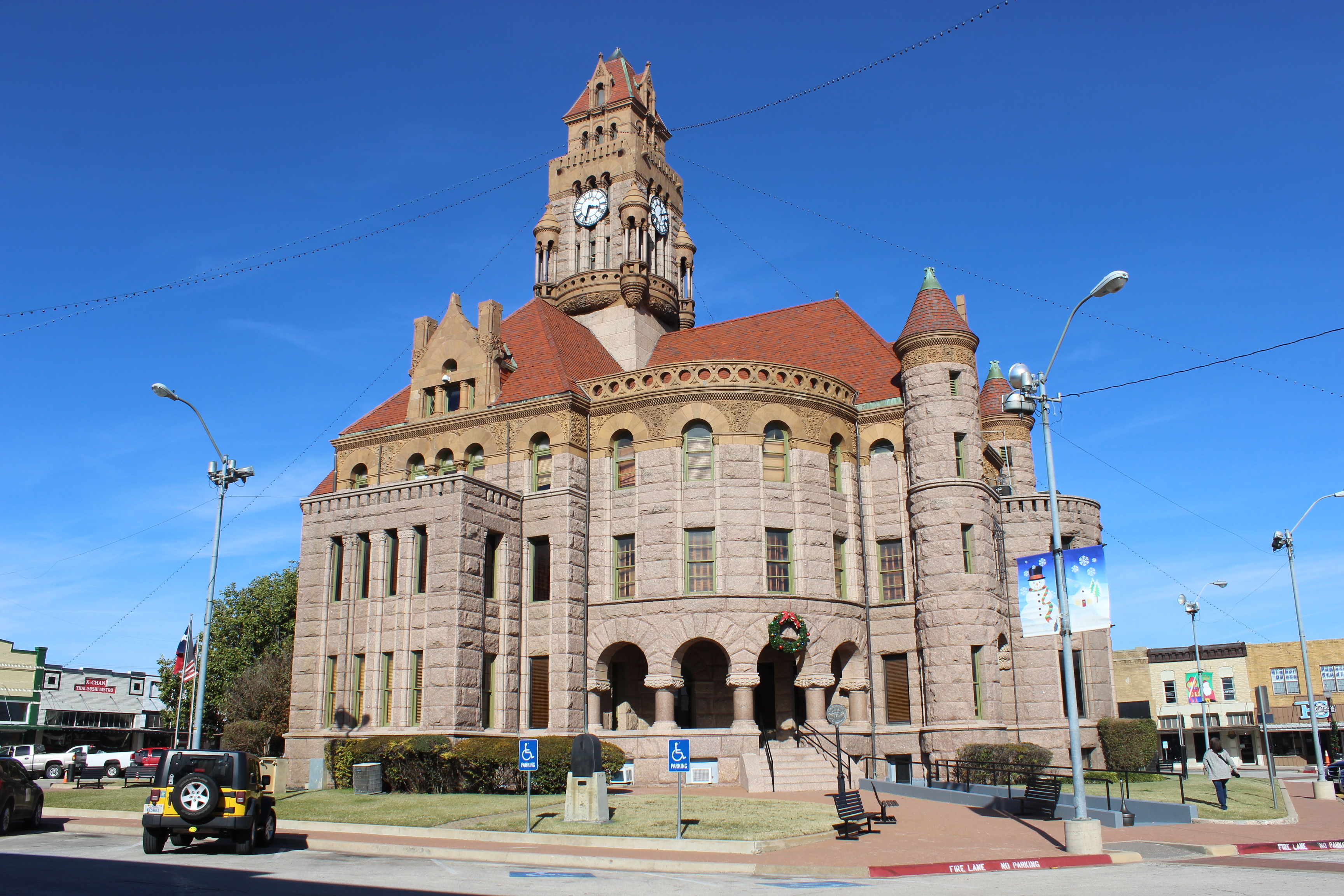 FileWise County Courthouse Decatur TXJPG  Wikimedia