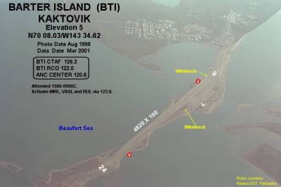 Barter Island LRRS Airport - Wikipedia
