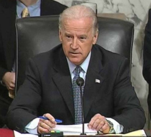 Sen. Joe Biden, D-Del., at a Foreign Relations Committee hearing on Iraq (September 11, 2007) - Wikimedia photo