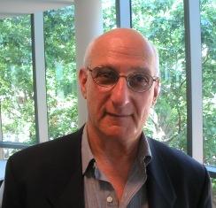 David Malouf picture at book meeting. (Taken b...